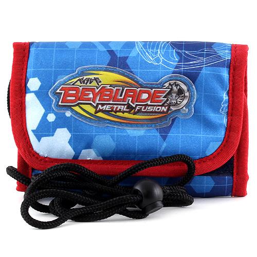 Peněženka s poutkem Beyblade modro/červená, s motivem Beyblade