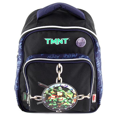Batoh TMNT černo/modrý, s motivem želvy Ninja