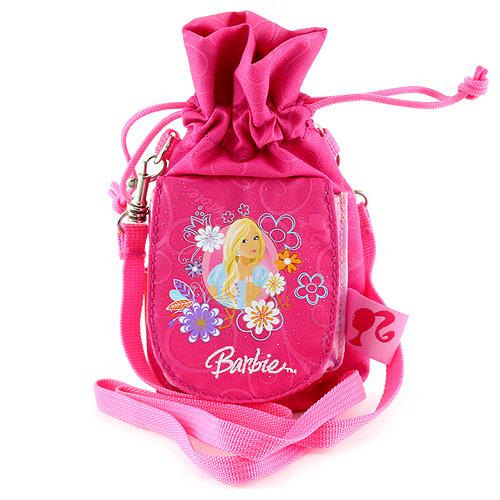 Pouzdro na mobil Barbie růžová, s motivem panenky Barbie