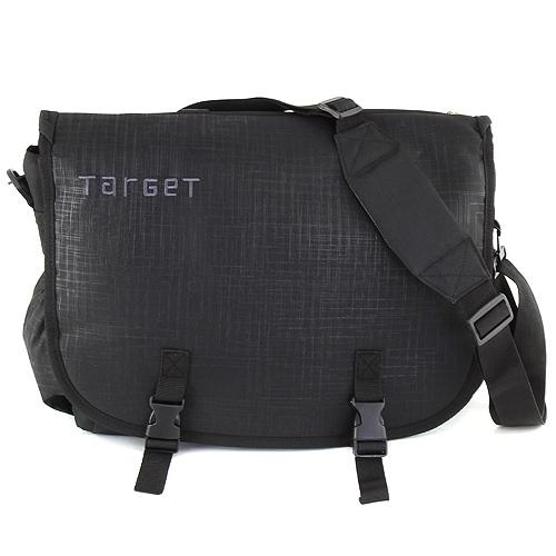 Taška přes rameno Target černá, s nápisem Target