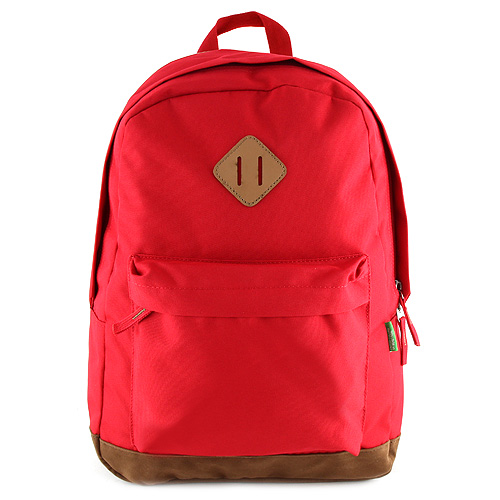 Batoh Benetton červený, textilní