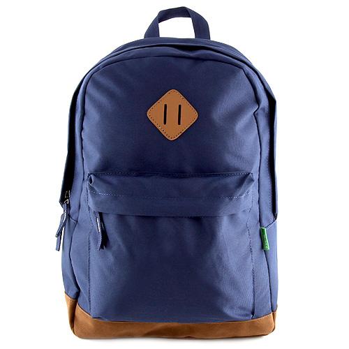 Batoh Benetton tmavě modrý, textilní