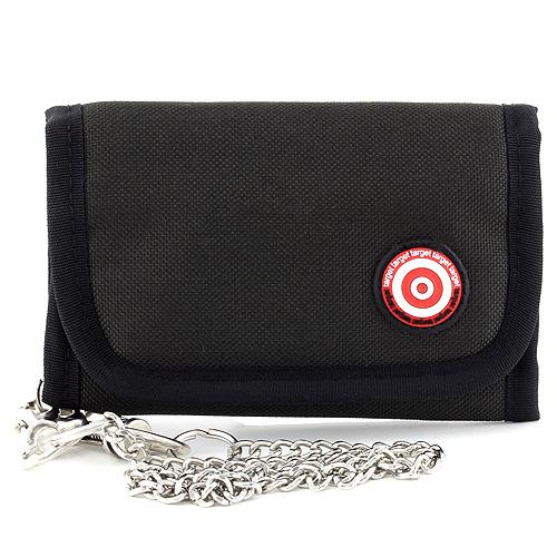 Peněženka Target černá se znakem Target