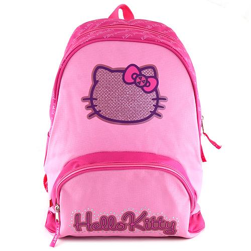 Batoh Hello Kitty růžový, textilní, s motivem Hello Kitty