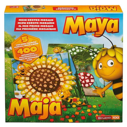 Trends Mozaika Včelka Mája 400 dílků, 5 motivů