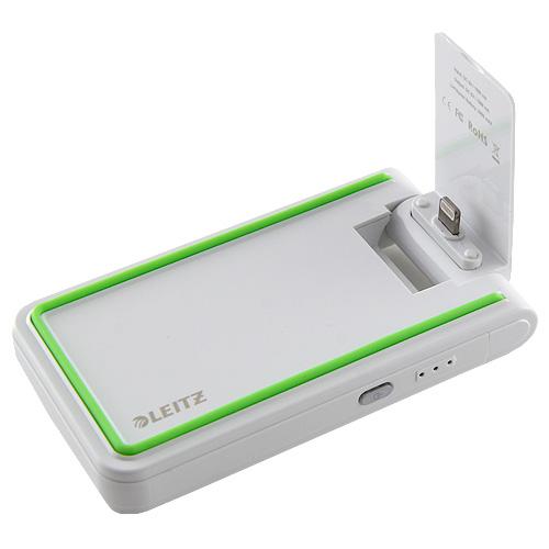 Mobilní nabíječka 3v1 Leitz bílá