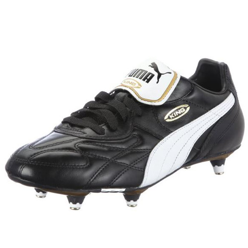 Puma King Pro SG black-white-team gold | 10,5
