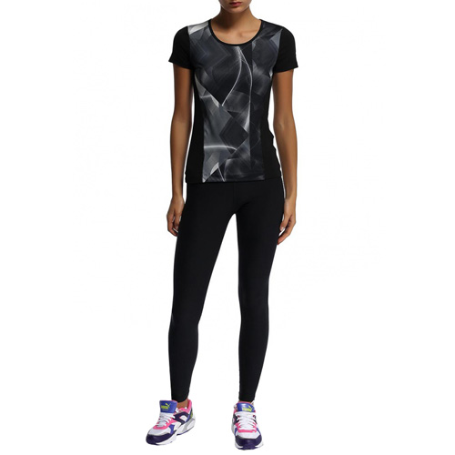 Puma Ess Gym Graphic Tee black | S