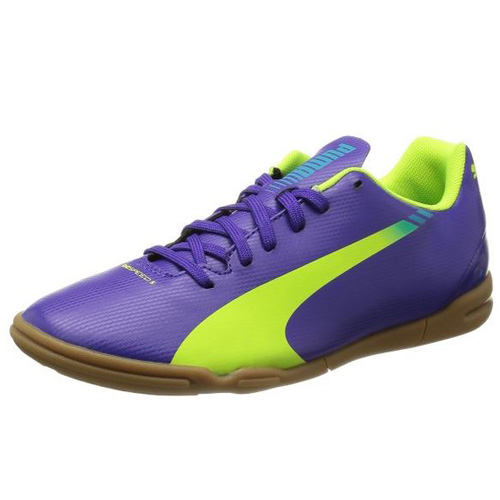 Puma evoSPEED 5-3 IT Jr prism violet-fluro yellow-scuba blue | 2