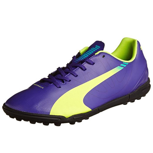 Puma evoSPEED 5-3 TT prism violet-fluro yellow-scuba blue | 6