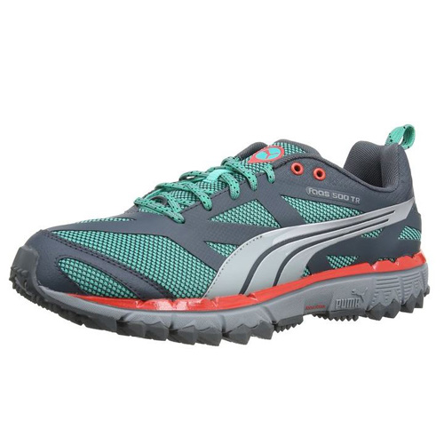 Puma Faas 500 TR pool green-turbulence-silver metallic | 7,5