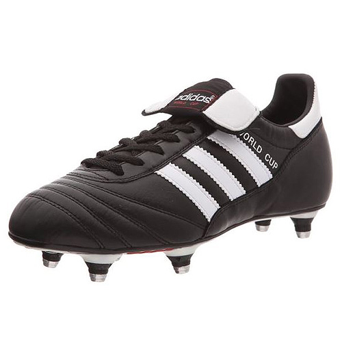 Adidas WORLD CUP FOOTBALL SHOES (SOFT GROUND) | BLACK/RUNWHT | 9-