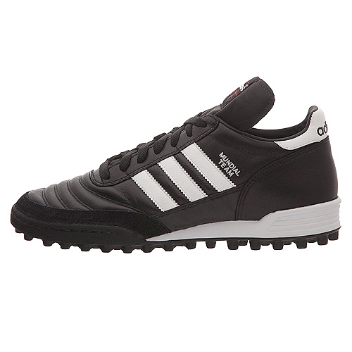 Adidas MUNDIAL TEAM FOOTBALL SHOES (TURF) | BLACK/RUNWHT/RED | 8