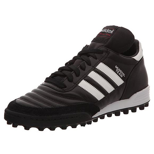 Adidas MUNDIAL TEAM FOOTBALL SHOES (TURF) | BLACK/RUNWHT/RED | 8-