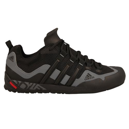 Adidas TERREX SWIFT SOLO SHOES - LOW (NON FOOTBALL) | BLACK1/BLACK1/LEAD | 6