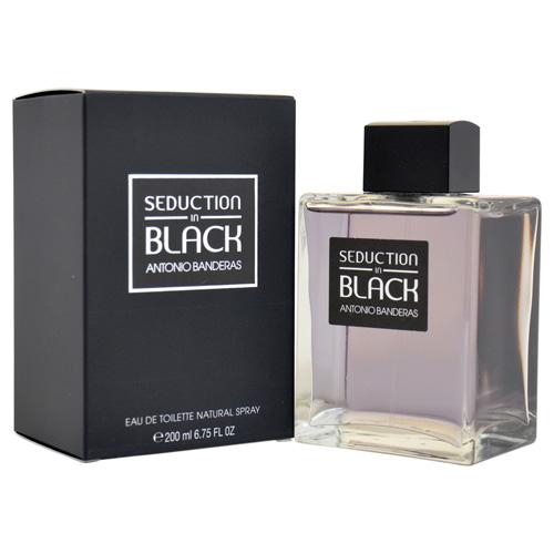 Toaletní voda Antonio Banderas Seduction In Black, 200 ml EDT