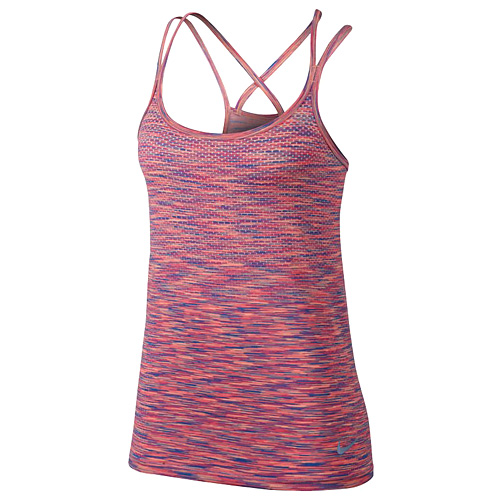 Nike W NK DF KNIT TANK 10 | RUNNING | WOMENS | TANK TOP/SINGLET | LT PHOTO BLUE/RAC
