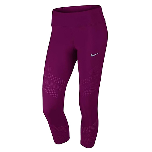 Nike W NK CROP EPIC COOL 10 | RUNNING | WOMENS | 3/4 LENGTH TIGHT | TRUE BERRY | M