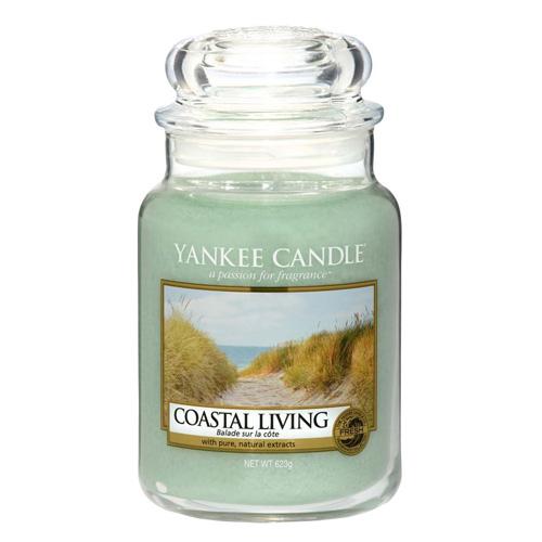 Svíčka ve skleněné dóze Yankee Candle Život na pobřeží, 623 g