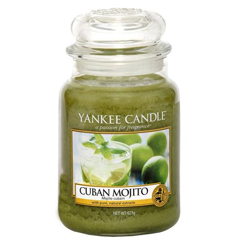 Svíčka ve skleněné dóze Yankee Candle Kubánské mojito, 623 g