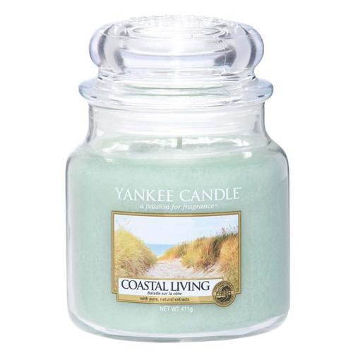 Svíčka ve skleněné dóze Yankee Candle Život na pobřeží, 410 g