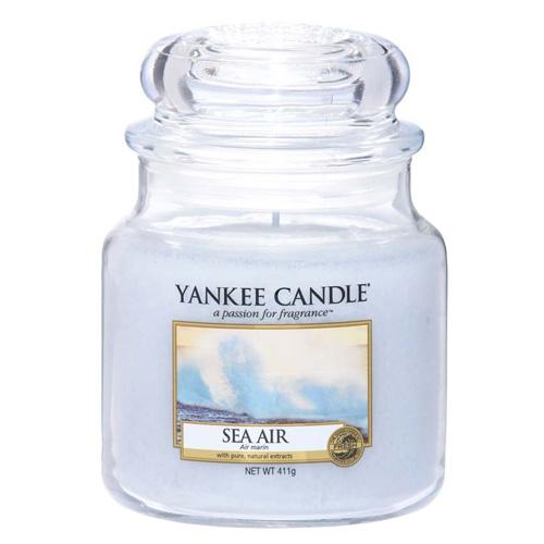 Svíčka ve skleněné dóze Yankee Candle Mořský vzduch, 410 g