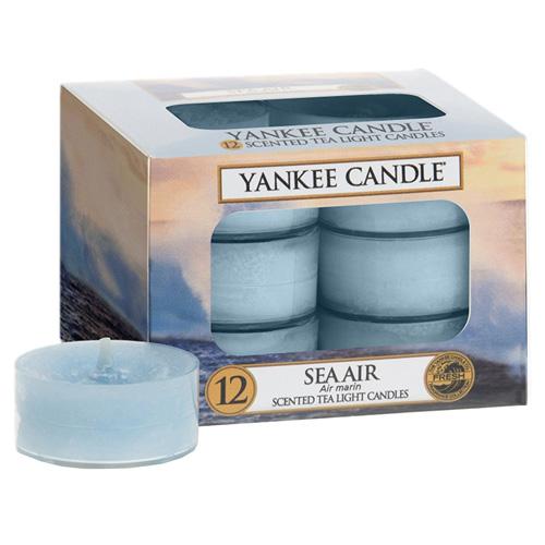 Svíčky čajové Yankee Candle Mořský vzduch, 12 ks