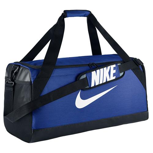 Taška Nike Brasilia Duffle | Modrá | Objem 65 l
