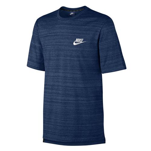Nike M NSW AV15 TOP SS KNIT 10   NSW OTHER SPORTS   MENS   SHORT SLEEVE TOP   BINARY BLU