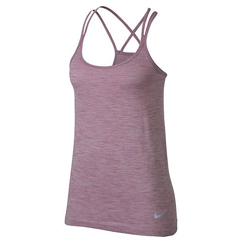 Nike W NK DF KNIT TANK 10   RUNNING   WOMENS   TANK TOP/SINGLET   ORCHID/HTR   L