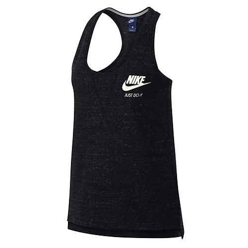 Nike W NSW GYM VNTG TANK 10   NSW OTHER SPORTS   WOMENS   TANK TOP/SINGLET   BLACK/SA