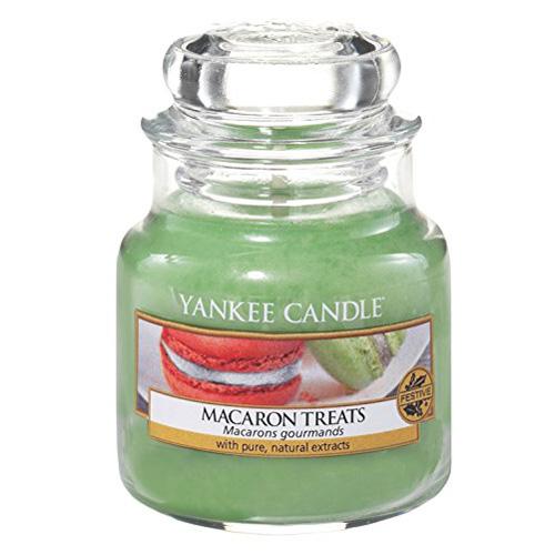 Svíčka ve skleněné dóze Yankee Candle Makronky, 104 g