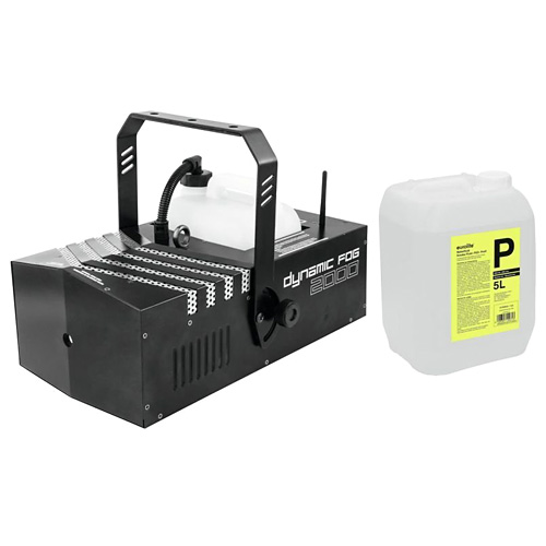 EUROLITE Set Dynamic Fog 2000 + Smoke fluid -P2D- 5l