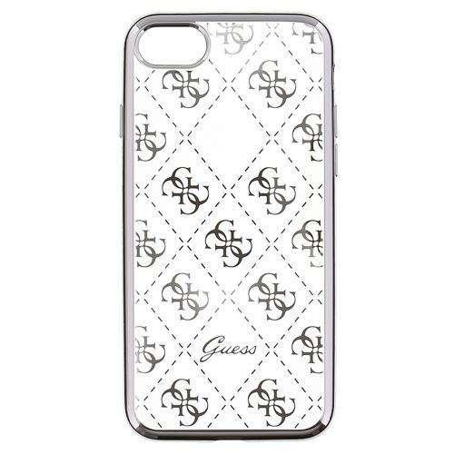 Guess 4G TPU Pouzdro Silver pro iPhone 5/5S/SE Telefony, hodinky a navigace   Pouzdra a obaly pro Apple