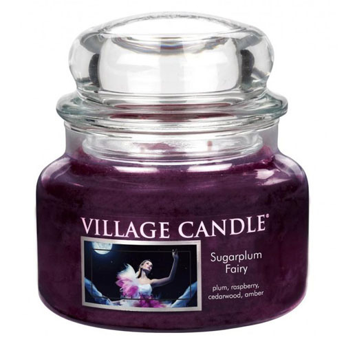 Svíčka ve skleněné dóze Village Candle Půlnoční víla, 312 g