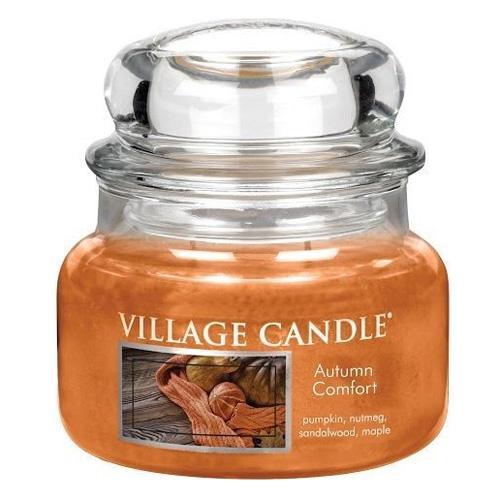 Svíčka ve skleněné dóze Village Candle Podzimní pohodlí, 312 g