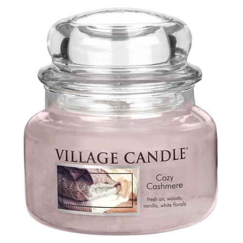 Svíčka ve skleněné dóze Village Candle Kašmírové pohlazení, 312 g