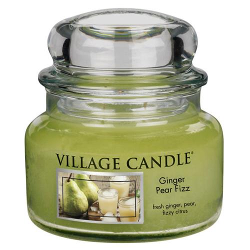 Svíčka ve skleněné dóze Village Candle Zázvor s hruškou, 312 g