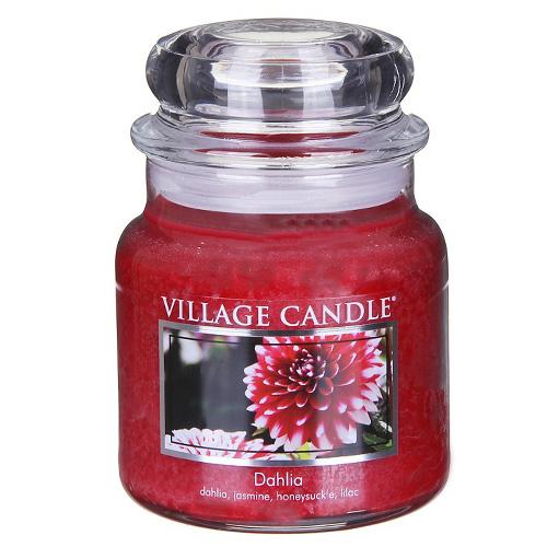 Svíčka ve skleněné dóze Village Candle Dahlia, 454 g