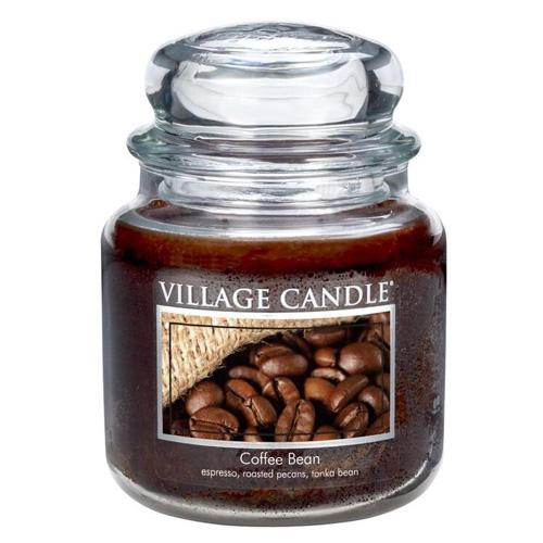 Svíčka ve skleněné dóze Village Candle Zrnková káva, 454 g