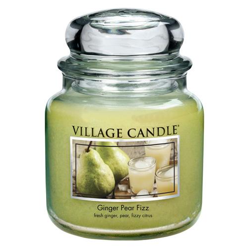 Svíčka ve skleněné dóze Village Candle Zázvor s hruškou, 454 g