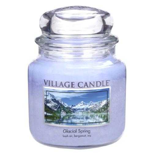 Svíčka ve skleněné dóze Village Candle Ledovcový vánek, 454 g