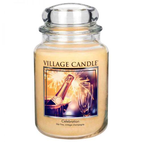 Svíčka ve skleněné dóze Village Candle Oslava, 737 g