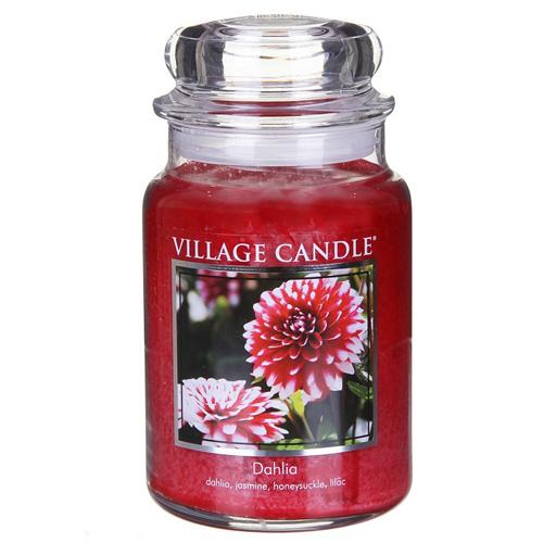Svíčka ve skleněné dóze Village Candle Dahlia, 737 g