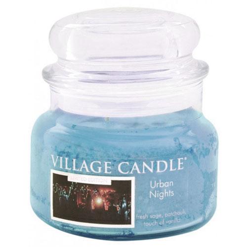 Svíčka ve skleněné dóze Village Candle Městská noc, 312 g
