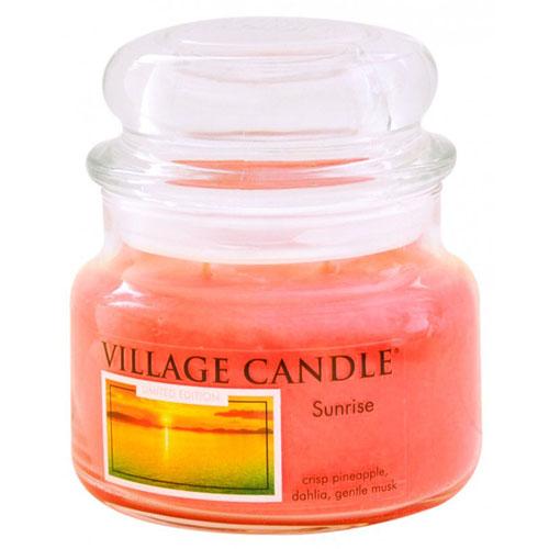 Svíčka ve skleněné dóze Village Candle Východ slunce, 312 g