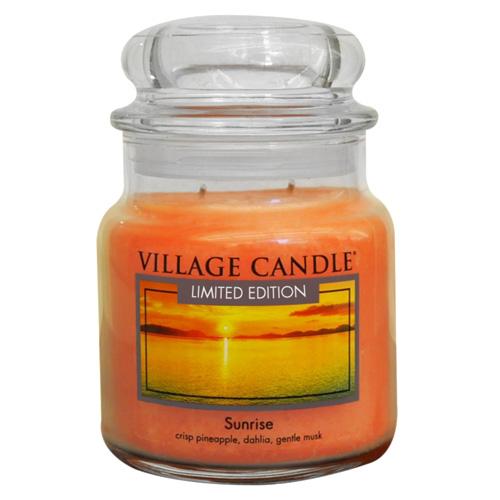 Svíčka ve skleněné dóze Village Candle Východ slunce, 454 g