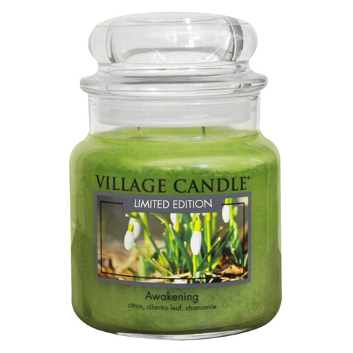Svíčka ve skleněné dóze Village Candle Jarní probuzení, 454 g