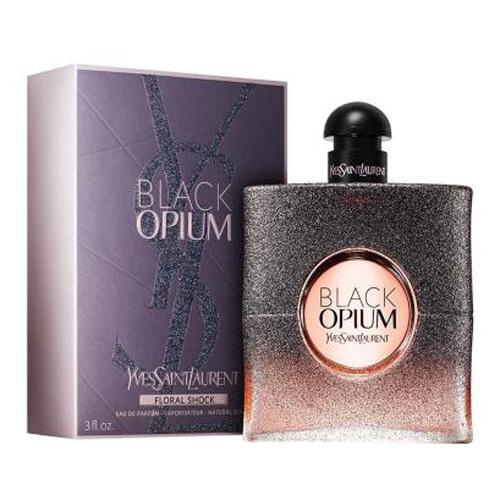 Parfémovaná voda Yves Saint Laurent Black Opium Floral Shock, 90 ml