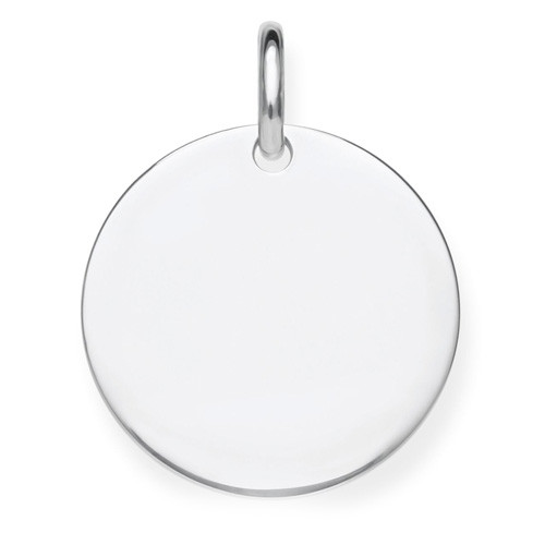 """Přívěsek """"Disk"""" Thomas Sabo LBPE0016-001-12, Love Bridge, 925 Sterling silver"""